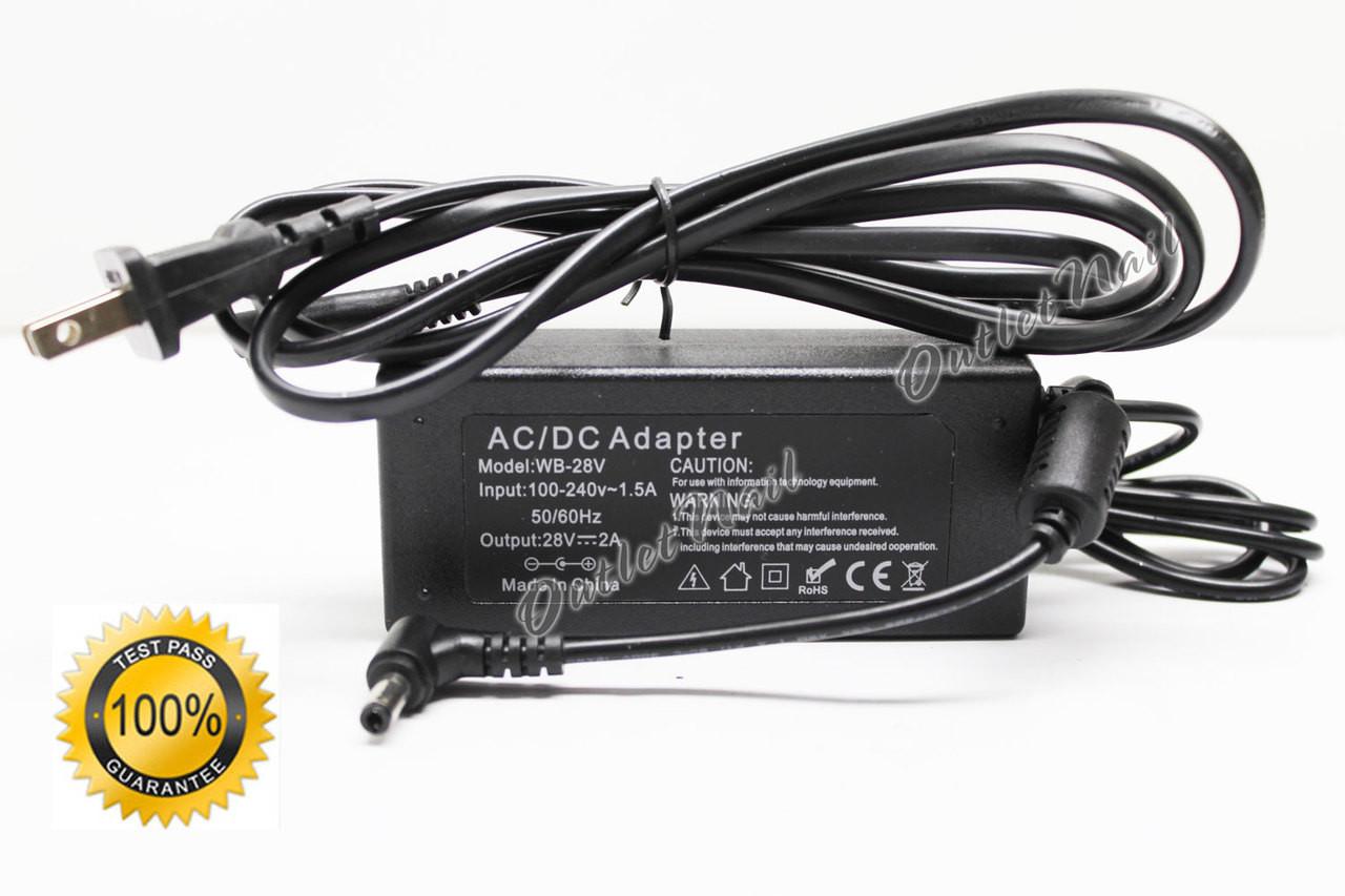 NEW AC Adapter For Gelish Harmony 18G LED Gel Lamp Dryer 100-240V Power Supply