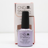 CND Shellac UV Gel Polish ALPINE PLUM 91687 7.3ml 0.25oz GLACIAL ILLUSION Color Holiday Collection 2017