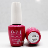 OPI GelColor NO TURNING BACK FROM PINK STREET GC L19 15ml 0.5oz LISBON Spring Summer 2018 Collection UV LED Gel Nail Polish #GCL19