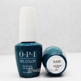OPI GelColor TEAL ME MORE, TEAL ME MORE GC G45 15ml 0.5oz GREASE Summer 2018 Collection UV LED Gel Nail Polish #GCG45