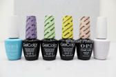 OPI Soak-Off GelColor The PASTELS COLLECTION Kit Spring Summer Color 2014 0.5oz 15ml