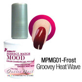LeChat Perfect Match MOOD MPMG01 GROOVEY HEAT WAVE Color Changing UV LED Gel Polish