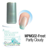 LeChat Perfect Match MOOD MPMG02 PARTLY CLOUDY Color Changing UV LED Gel Polish