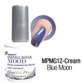 LeChat Perfect Match MOOD MPMG12 BLUE MOON Color Changing UV LED Gel Polish