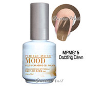 LeChat Perfect Match MOOD MPMG15 DAZZLING DAWN Color Changing UV LED Gel Polish