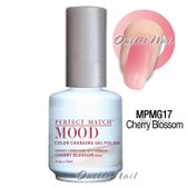 LeChat Perfect Match MOOD MPMG17 CHERRY BLOSSOM Color Changing UV LED Gel Polish