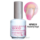 LeChat Perfect Match MOOD MPMG19 HEAVENLY ANGEL Color Changing UV LED Gel Polish