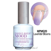 LeChat Perfect Match MOOD MPMG20 LAVENDER BLOOMS Color Changing UV LED Gel Polish