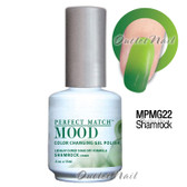 LeChat Perfect Match MOOD MPMG22 SHAMROCK Color Changing UV LED Gel Polish