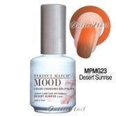 LeChat Perfect Match MOOD MPMG23 DESERT SUNRISE Color Changing UV LED Gel Polish