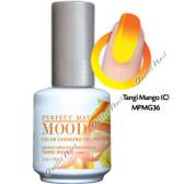 LeChat Perfect Match MOOD MPMG36 TANGI MANGO Color Changing UV LED Gel Polish