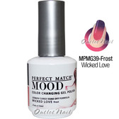 LeChat Perfect Match MOOD MPMG39 WICKED LOVE Color Changing UV LED Gel Polish