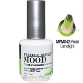 LeChat Perfect Match MOOD MPMG42 LIMELIGHT Color Changing UV LED Gel Polish