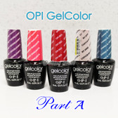 OPI GelColor PART A Soak Off Led UV Gel Polish Base Top Coat - SHIP 24H