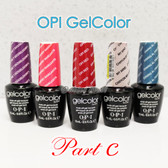 OPI GelColor PART C Soak Off Led UV Gel Polish Base Top Coat - SHIP 24H