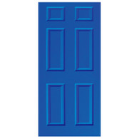 Door Vinyl Decal, Dementia Friendly  - Blue