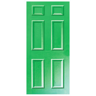 Door Vinyl Decal, Dementia Friendly - Green
