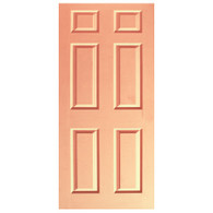 Door Vinyl Decal, Dementia Friendly - Peach