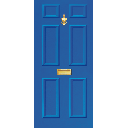Door Vinyl Decal Dementia Friendly With Letterbox