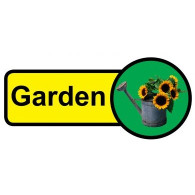 Garden Sign, Dementia Friendly - 48cm x 21cm