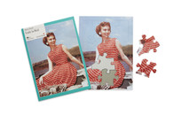 13 Piece Jigsaw - Lady in Red