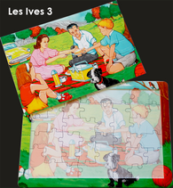16 Piece Reminiscence Jigsaw - Les Ives 3