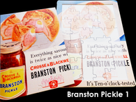 16 Piece Reminiscence Jigsaw - Branston Pickle