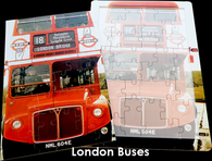 16 Piece Reminiscence Jigsaw - London Bus 1