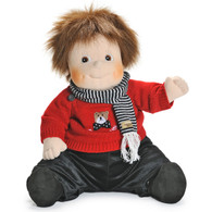 Rubens Barn Original Empathy Doll - Emil with Teddy Clothes