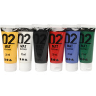 Acrylic Paint - Pack of 6