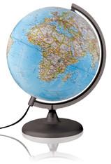 Illuminated National Geographic Globe