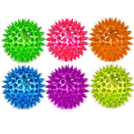 Spiky Flashing Balls