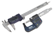 Sealey AK9637D Digital Measuring Set 2pc