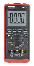 Sealey TA203 Digital Automotive Multimeter 15 Function Bar Graph/PC Link