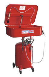 Sealey SM224 Mobile Parts Cleaning Tank Air Operated with Reservoir