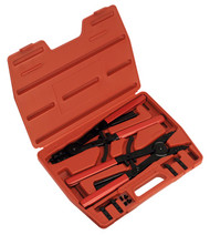 Sealey AK8501 Circlip Pliers Set Internal/External 400mm Heavy-Duty
