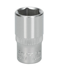"Sealey S1410 WallDriveå¬ Socket 10mm 1/4""Sq Drive"