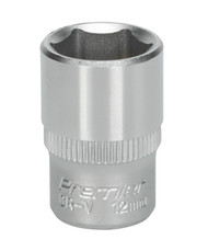 "Sealey S1412 WallDriveå¬ Socket 12mm 1/4""Sq Drive"