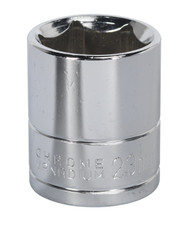"Siegen S0660 WallDriveå¬ Socket 23mm 1/2""Sq Drive"
