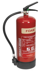 Sealey SFE06 Fire Extinguisher 6ltr Foam