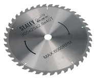 Sealey SMS12B40 Compound Mitre Saw Blade 305 x 2.8mm 25.4mm Bore 40tpu