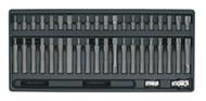Sealey TBT10 Tool Tray with TRX-Star/Hex/Spline Bit Set 42pc