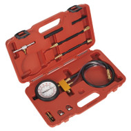 Sealey VSE211 Fuel Injection Pressure Test Kit - Test Port