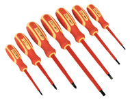 Siegen S0756 Screwdriver Set 7pc Electrician's VDE Approved