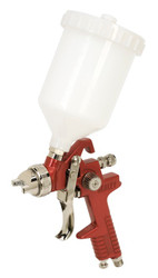 Sealey HVLP742 HVLP Gravity Feed Spray Gun 2mm Set-Up
