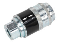 "Sealey AC57 Safety Coupling Body Female 1/4""BSP"