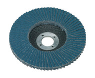 Sealey FD10040 Flap Disc Zirconium åø100mm 16mm Bore 40Grit