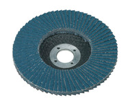 Sealey FD10060 Flap Disc Zirconium åø100mm 16mm Bore 60Grit