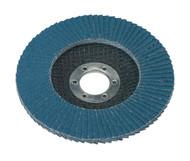 Sealey FD11580 Flap Disc Zirconium åø115mm 22mm Bore 80Grit