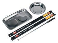 Siegen S0773 Magnetic Bowl & Tool Holder Set 5pc